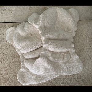 Lot of 2 Kissaluvs Size 0 Cloth Diapers